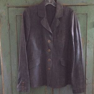 Eileen Fisher vintage inspired linen jacket 4